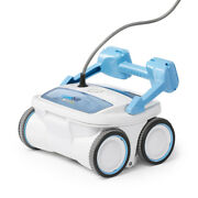 Aquabot Breeze 4wd Robotic In Ground Pool Vacuum Cleaner W/ Deep Cleaning Brush