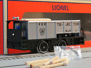 Lionel Prr Command Control Tie-jector Train Rail Ties Cab Controlled 6-81444 New