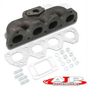 T3/t4 H22 Turbo Charger Manifold Cast Iron For 1992-2001 Honda Prelude Vtec Dohc