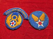 8th Aaf Weather Patch Group Weather Service Tab Arc + 2 Patches
