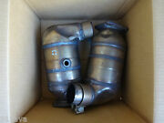 Porsche 991 And 997.2 Turbo S Original Used Take Of Exhaust Cat 's Right And Left