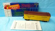 Roundhouse Ho Scale Railroad Rr Train Car 36and039 Meat Reefer 3182 Cudahy Pkg 3c