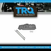 Trq Gas Fuel Tank 25 Gallon W/ Strap Kit Set For Chevy Gmc C/k Pickup 6 Foot Bed