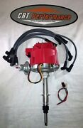 Chevy Inline 6 / Straight 6 194-230-250-292 Hei Distributor Red + Plug Wires New