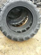 Two 14.9x38 14.9-38 Farmall Allis Chalmers Tractor Tires