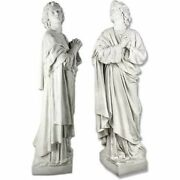 + Statue St. John The Apostle + 68 Tall + Statue + Shipping Available +