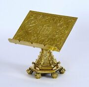 + Traditional Ornate Missal Stand + Gospel Book Stand + 197-126