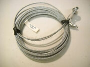 Two 150 Replacement Cable Wire- Enclosed Cargo Trailer Ramp Door Spring 12.5'