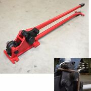 Hand Manual 5/8 Rebar Bender Cutter Construction Concrete Cutting And Bending Rod