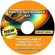 Professional Cd And Dvd Burner Copying/replication Software – Easy Disc Writing