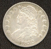 1832 50c Small Letters-nice Looking-capped Bust Half Dollar