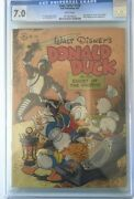 Four Color 159 Dell 8/47 Donald Duck In Ghost Grotto Cgc 7.0 White Pages