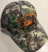 Allis Chalmers Wd-45 Tractor Embroidered Camo Hat 2 Types