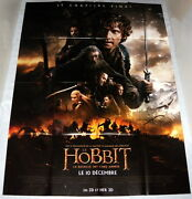 The Hobbit The Battle Of The 5 Armies Peter Jackson Large French Poster 1