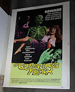 The Creeping Flesh Orig Rolled 30x40 Movie Poster Peter Cushing/christopher Lee