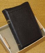 International Holy Bible | Kjv Stunning Leather Compact 4.25 X 6.5 In Box
