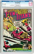 Teen Titans 3 Cgc 9.4 Dc 1966 After Brave And Bold 28 Intro Jla F6 116 1 Cm