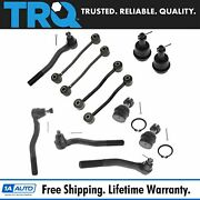 Trq 12 Piece Kit Front Rear Ball Joints Sway Links Tie Rods For Grand Cherokee