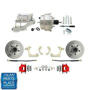 1955-58 Gm Full Size Disc Brakes W/ 8 Dual Stainless Conversion Kit 313r