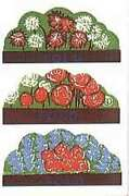 Motel Flowers For Plasticville O And S Gauge Scale Buildings Pl106 Parts