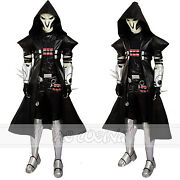 Game Outfit Cosplay Reaper Cosplay Costume Puls Mask