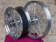 60 Spoke Wheels 21 And 18x5.5 Parts For Harley Chopper