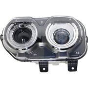 Headlight For 2015 2016 2017 2018 Dodge Challenger Left With Bulb