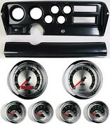 70-72 Gto Carbon Dash Carrier W/ Auto Meter American Muscle Gauges