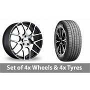 4 X 19 Tsw Nurburgring Forged Alloy Wheel Rims And Tyres - 255/45/19