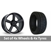 4 X 20 Fox Racing Ms003 Alloy Wheel Rims And Tyres - 275/40/20