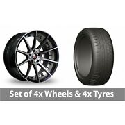 4 X 20 Axe Ex16 Polished Alloy Wheel Rims And Tyres - 275/45/20