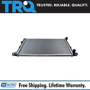 Trq Radiator Assembly Aluminum Core Direct Fit For Vw Jetta Golf Cabrio Mk3 New