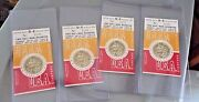 Vintage 4 Ticket Stubs Stanford Usa Ussr Greatest Track Meet Of All Time 1962