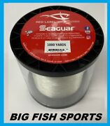 Seaguar Red Label 100 Fluorocarbon Fishing Line 1000 Yards Pick Your Size