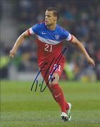 Tim Timothy Chandler 21 Signed Team Usa Soccer 8x10 Photo - World Cup Olympics