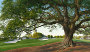 18th Hole And Clubhouse Augusta National Golf Club Hartough 60 A/p Canvas
