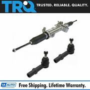 Trq Power Steering Rack Assembly Outer Tie Rod End Kit Set For Gm Truck Suv New