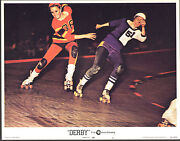 San Francisco Bay Bombers Orig 1971 Lobby Card 11x14 Movie Poster Roller Derby