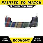 New Painted To Match - Rear Bumper Cover For 2009-2014 Honda Fit 04715tk6a91zz