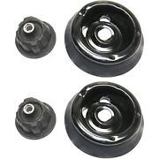 New Shock And Strut Mount Front Driver And Passenger Side For Mercedes C Class Cl