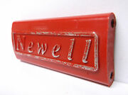 Used Newell Conventional Reel Part - R 533 5.5 Red - Spacer Bar A