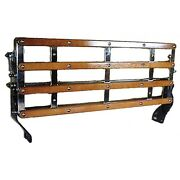 Ford Model A Chrome Luggage Rack Assembly For 1928-1931 Oem A-18575-b