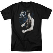 Bruce Lee Martial Arts Dragon Stance Adult T-shirt Tee