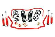 68-72 Chevelle Umi Performance Suspension Package 1 Lowering Stage 1 Red