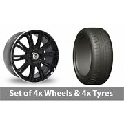 4 X 20 Wolf Design Vermont Sport Alloy Wheel Rims And Tyres - 275/45/20