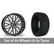 4 X 22 Wolf Design Wolf Design Gtp Alloy Wheel Rims And Tyres - 265/35/22