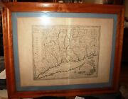 Map Of Connecticut By The Best Authorities Amos Doolittle 1810 Large Edition