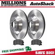 Front Disc Brake Rotors And Semi Metallic Pads Kit For Chevy Impala Buick Lucerne