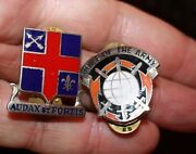 Large Lot Wwii - Vietnam And Modern Enameled Us British Insignia Pins