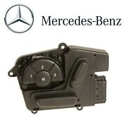 For Mercedes W164 W166 W251 Front Driver Left Black Seat Adjustment Switch Oes